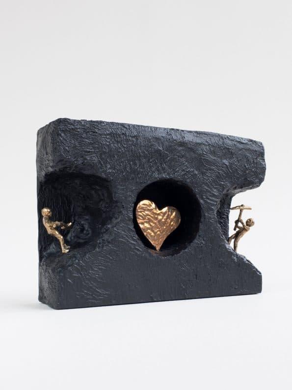 FINNE KJÆRLIGHETEN – ekte bronse