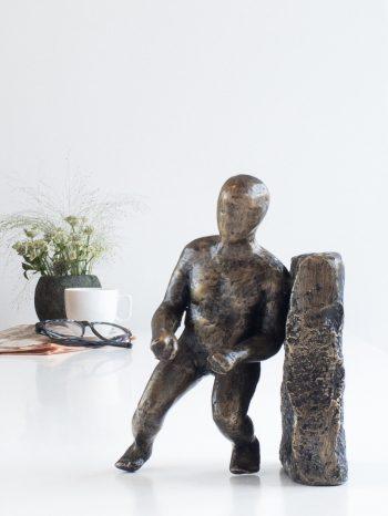 LIVSNYDEREN - bronze patineret