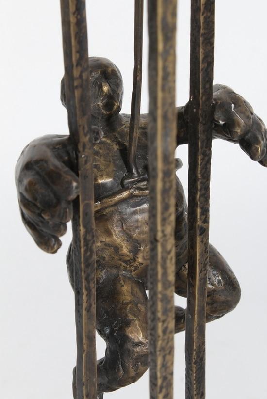 VED FELLES HJELP – ekte bronse