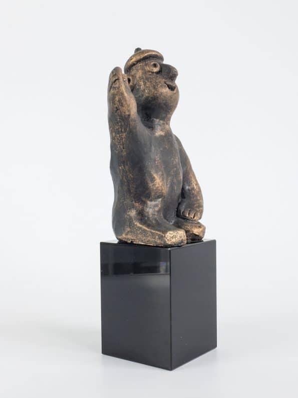 DEN VISJONÆRE – bronsepatinert