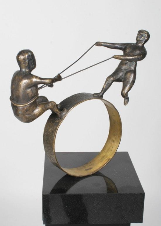 SAMARBEID – ekte bronse
