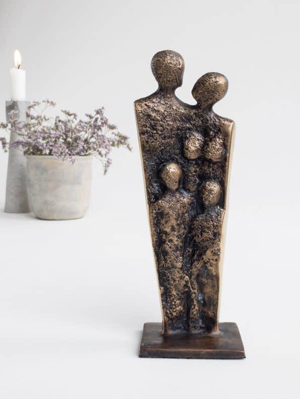 FAMILIE – ekte bronse