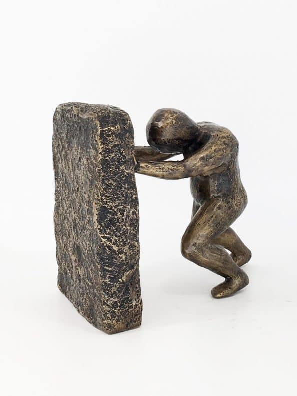 VILJESTYRKE – ekte bronse