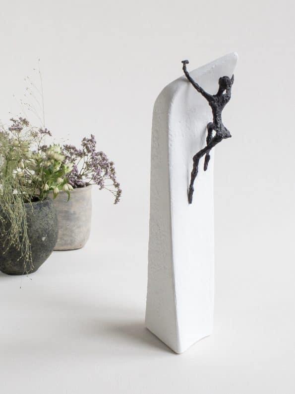 ENDRINGER KOMMER FRA INNSIDEN – ekte bronse