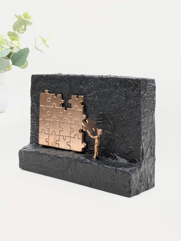 MITT BIDRAG – ekte bronse