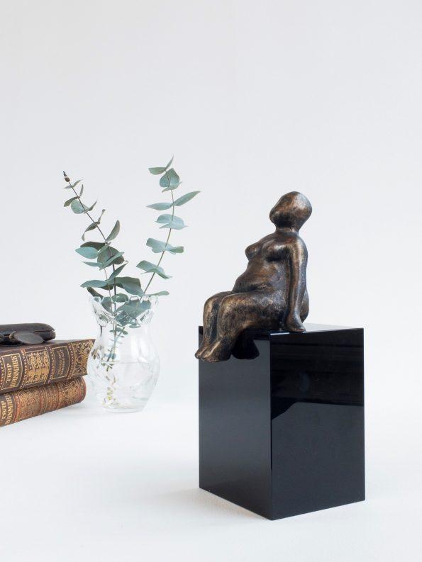 LYKKE – bronse patinert