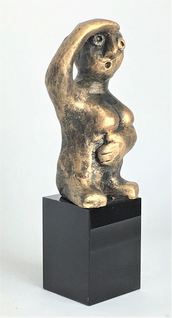 DEN FREMSYNTE – bronse patinasjon