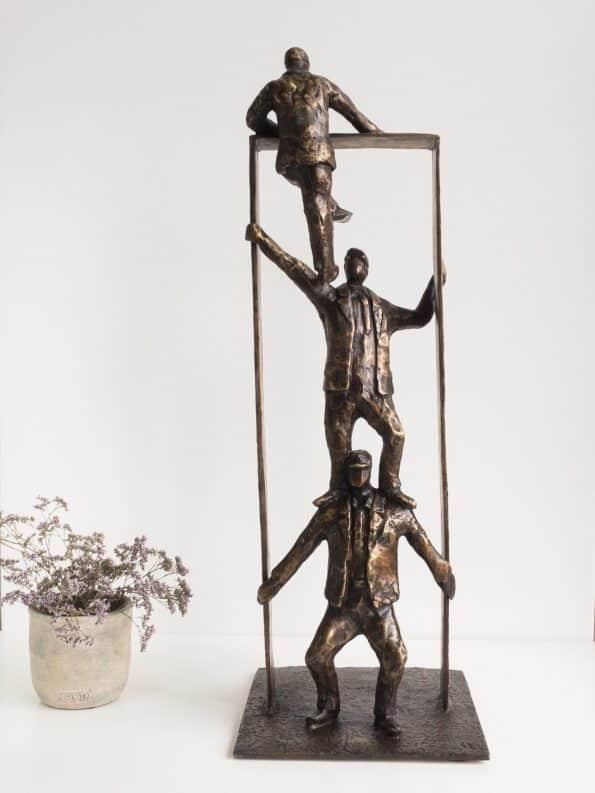 Sammen rekker vi lengst – ekte bronse
