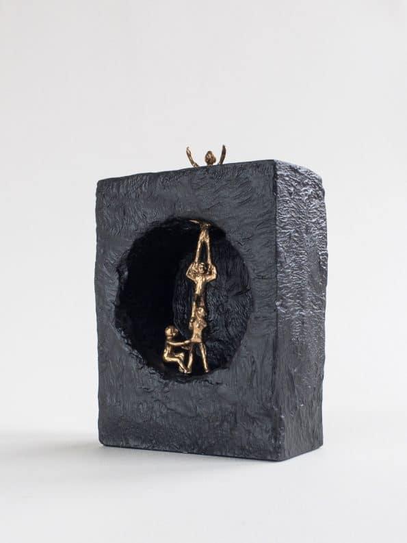 FELLES HJELP – ekte bronse