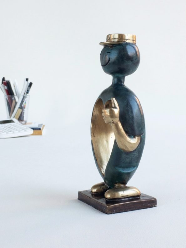 RUSSEN – ekte bronse