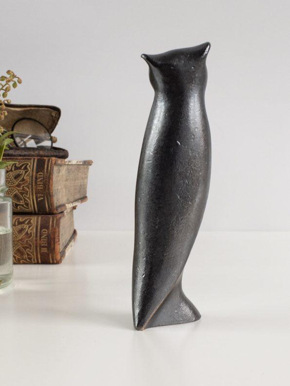 UGLEN - VISDOM OG INNSIKT - ekte bronse