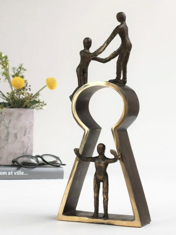 Nøkkelen til suksess - ekte bronse