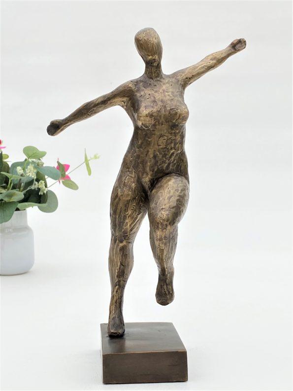 Livsglede - ekte bronse
