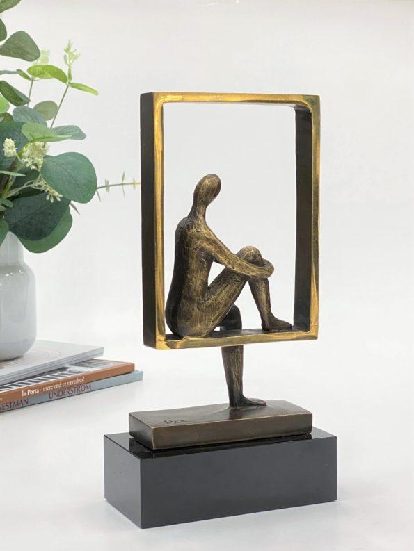 I balanse - ekte bronse