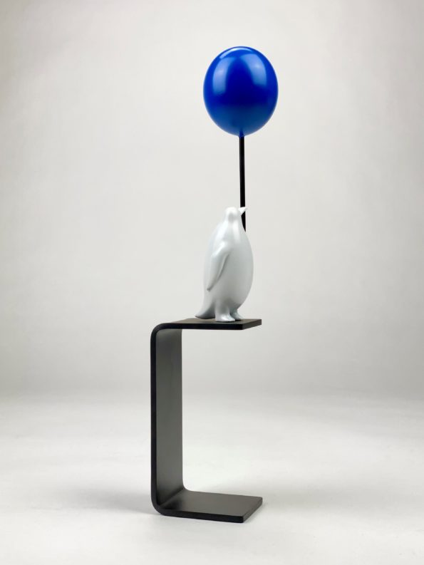 Et hav av muligheter - blå ballong