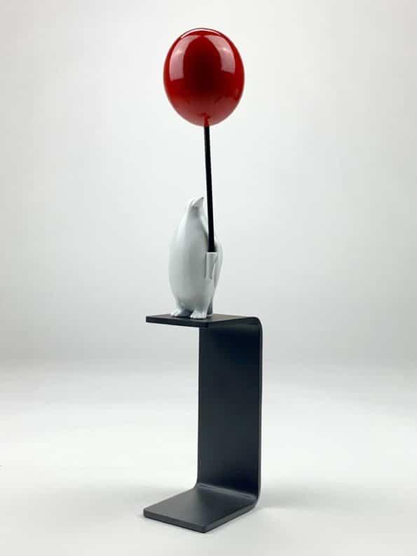 Et hav av muligheter – rød ballong