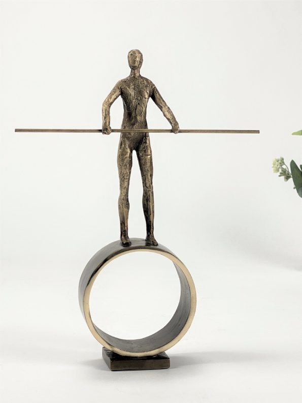 Omdreiningspunkt - ekte bronse