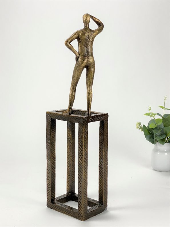 Tenke ut av boksen - ekte bronse